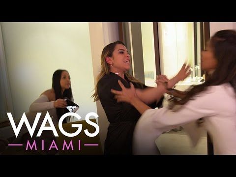 """Fists Fly Between the """"WAGS Miami"""" Ladies 