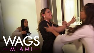 "Fists Fly Between the ""WAGS Miami"" Ladies 