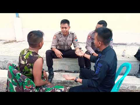 1 Anggota TNI Di Keroyok 2 anggota Polisi & Brimob
