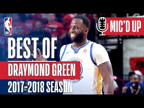 Draymond Green's Best Wireless Moments of the 2017-2018 NBA Season!
