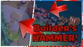 BUILDER'S HAMMER FOUND in NIGHT MODE Base!? | Clash Of Clans Witch Hut LEAK PRIVATE Shrink Trap