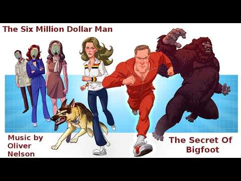 The Six Million Dollar Man TV Series Music ~ The Secret Of Bigfoot