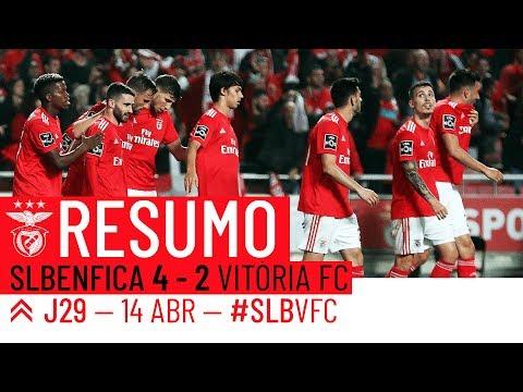 HIGHLIGHTS: SL Benfica 4-2 Vitória FC