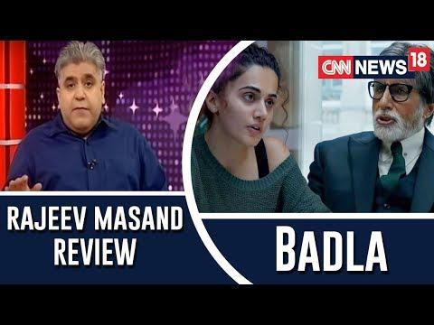 Badla Review By Rajeev Masand
