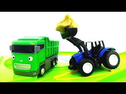 Giochi Per Bambini Con Le Macchine Le Auto Di Servizio Puliscono La
