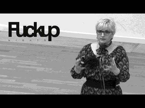 FuckUp Nights Frankfurt - Ina Klatt