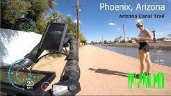 Arizona - Grand Canal Bike Path - Phoenix - 15 miles one way - eBike Tour