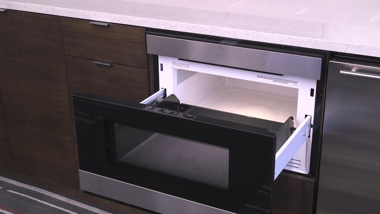 The Sharp Smd2480cs Easy Touch Microwave Drawer System