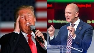How will Trump respond to Amazon CEO?
