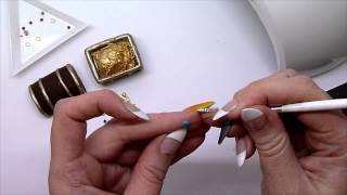 NAILS Magazine Next Top Nail Artist 2014 - Simone Gilbert - Week 2 - In Too Deep Thumbnail