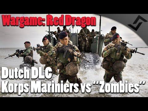 "Wargame: Red Dragon - Dutch DLC - Korps Mariniers vs ""Zombies"""