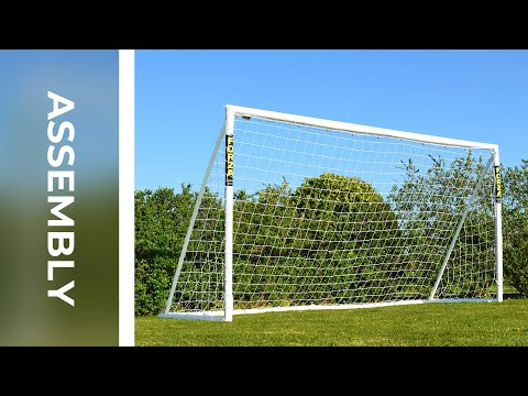 How To: Assemble The 12 X 6 FORZA Locking Football Goal | Net World Sports