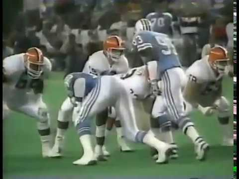 Cleveland Browns vs Houston Oilers 1989 WK 16