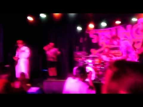 Guttermouth first song at Punk Rock Bowling 2013.