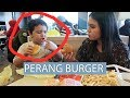 PERANG BURGER WITH JANOS  LAURA VLOG  5