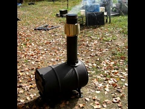 Making A Barrel Stove Using The Barrel Stove Kit - Making A Barrel Stove Using The Barrel Stove Kit - YouTube