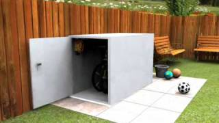 Secure Cycle Storage For 2 Bikes - Keep Your Bikes Stored Safely With This Bike Shed
