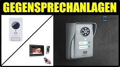 ► BESTE VIDEO GEGENSPECHANLAGE TEST ★ Wlan + Funk Gegensprechanlage mit Kamera ★ Funk Türklingel
