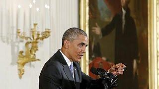 أوباما: الإتفاق مع إيران يجعل أميركا والعالم أكثر أمنا   16-7-2015