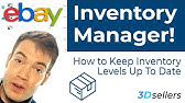 Ebay Inventory Management With Selling Manager Pro Youtube