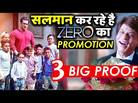 3 BIG PROOF: Salman Khan Promoting Shahrukh Khan's Zero Like A True Friend!