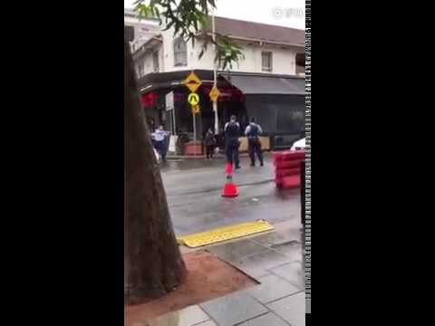 Chinese girl shot by police because she was using mobile while crossing the road