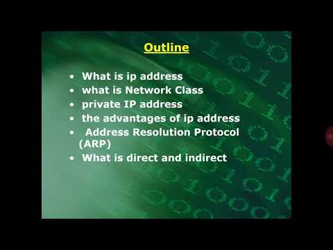 Internet protocol  (IP) by:Shara Ismail