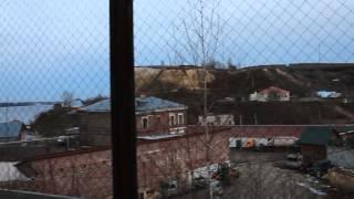 MVI 3912 печищи.  панорама с правой стороны на подъёме.(11 ноября 2013 г., 16:29:02 . когда все уже спустились вниз на переходной мостик , не удержался и свернул на спуске..., 2013-11-16T21:49:23.000Z)