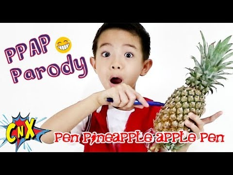LoL PEN PINEAPPLE APPLE PEN Parody Kid Edition (PPAP) by CnX Adventurers, Parodi Lagu Anak Lucu