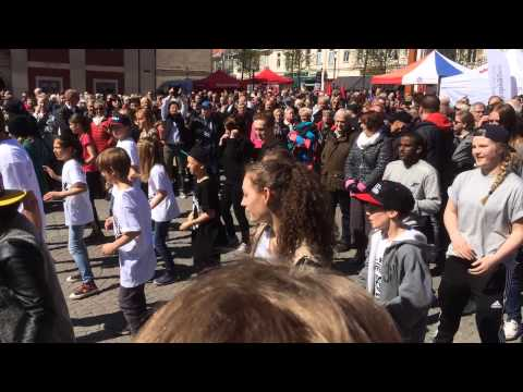 Flashmob 1 maj Jönköping
