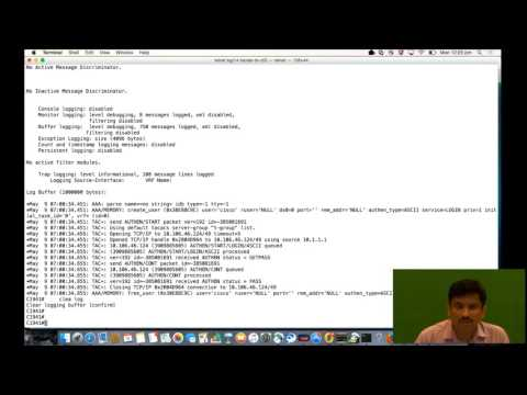 TACACS Configuration and Troubleshooting