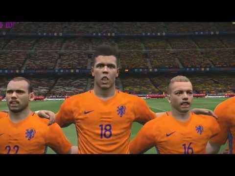 PES 2017 || PC gameplay 4k resolution || Netherlands vs Spain