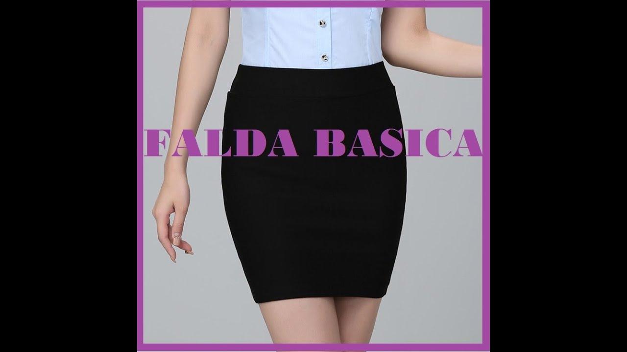 54e7d7cc8 COMO HACER UNA FALDA BASICA- DIY