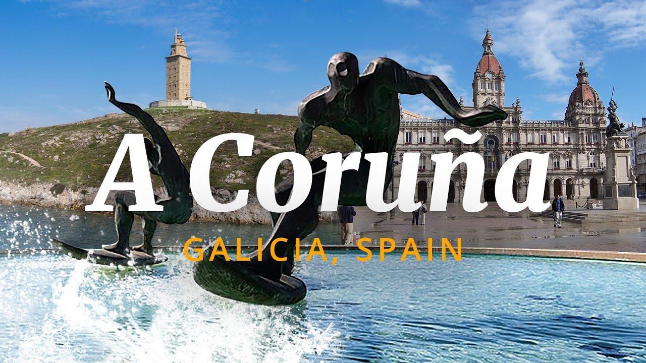 Download Road Trip to A Coruña - Galicia, Spain