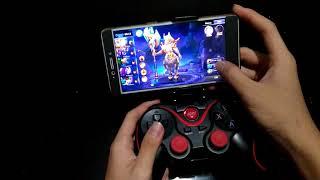 How to play mobile legends with terios gamepad use gamesir app
