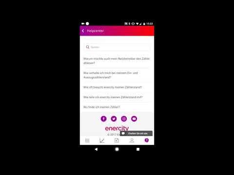 Dashboard mit Daten, FAQ und Chat