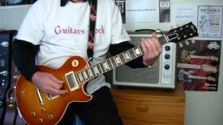 How to play LONG COOL WOMAN IN A BLACK DRESS HOLLIES by Guitars Rock