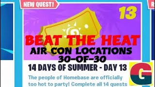 FORTNITE STW/ 14 DAYS OF SUMMER - BEAT THE HEAT.