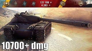T57 Heavy Tank как играют ТОП статисты 10700 dmg 🌟🌟🌟 World of Tanks лучший бой
