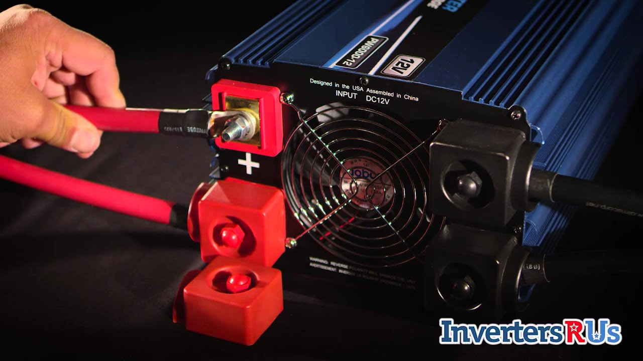 Power Bright PW6000-12 6000 Watt Power Inverter