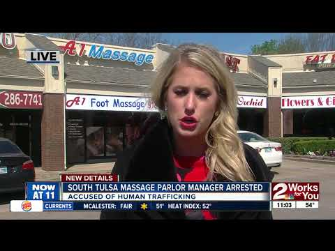 Undercover officer busts Tulsa massage parlor