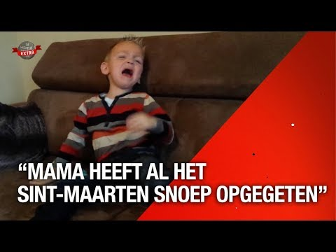 Mama en Papa Hebben Het St. Maarten Snoep Opgegeten   DWDD Extra