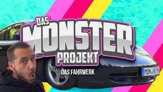 HOW DEEP? // PORSCHE 996 / DAS MONSTER PROJEKT - DAS FAHRWERK