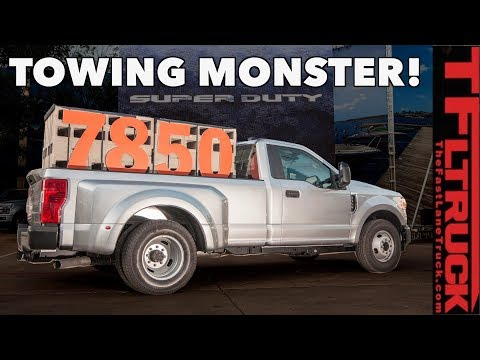 2020 Ford Super Duty Can Tow a HUGE 37,000 lbs: Here's How It Compares To The Competition!