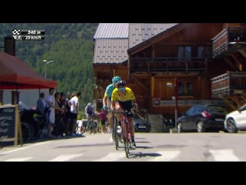 Porte attacks - Stage 7 - Critérium du Dauphiné 2017