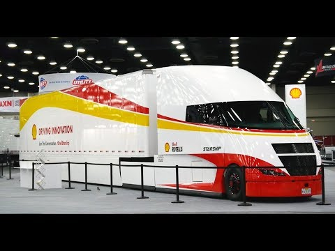 Shell Rotella's StarShip concept tractor-trailer debuts ahead of cross-country run