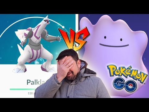 AL FIN DITTO sirve para algo en Pokémon GO, pero... ¿¡Con PALKIA se fue la racha!? [Keibron] thumbnail