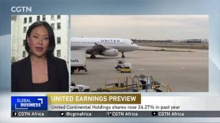 United Airlines set to report a big drop in profits
