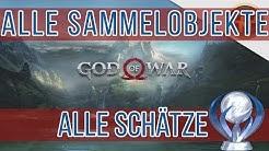 God of War Guide - Fundorte aller 12 Schätze - Sammelobjekte - Trophäe Schatzjäger