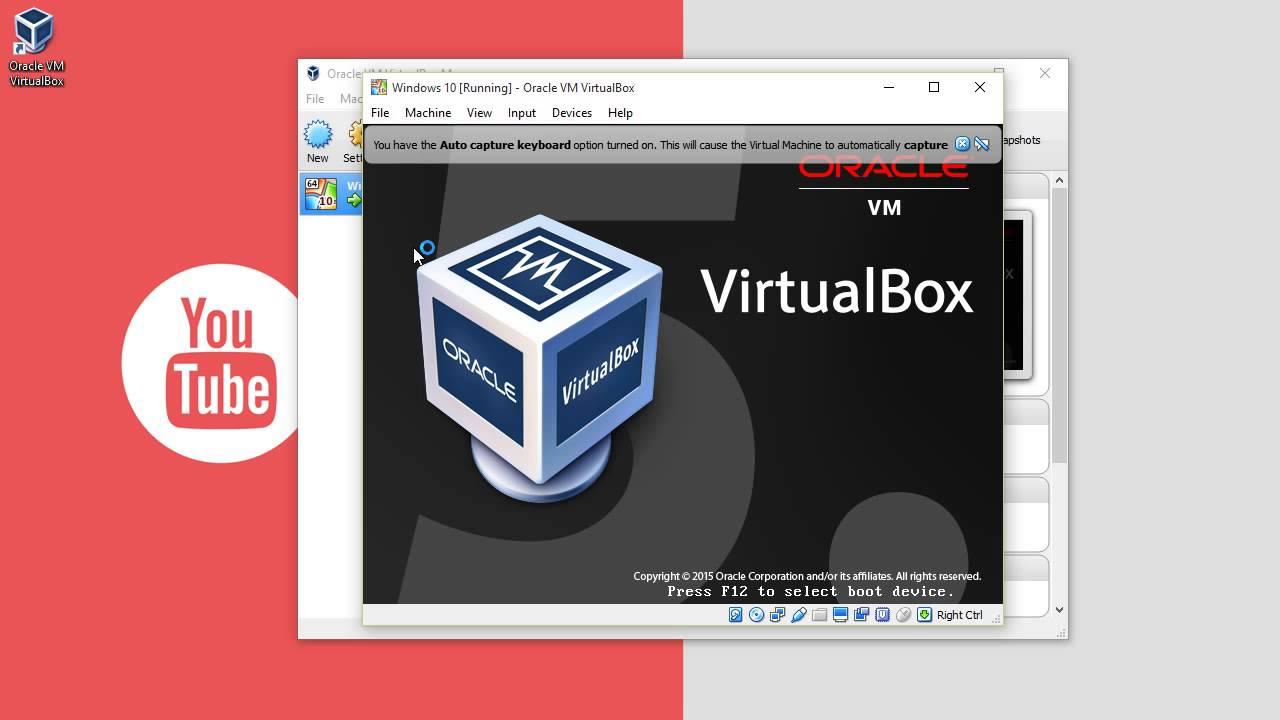 Hướng dẫn tạo máy ảo bằng VirtualBox trên Windows 10 – Phần 1/…